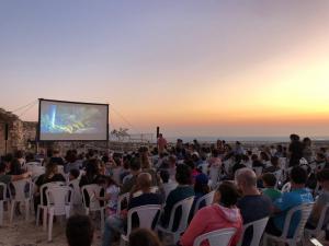 פסטיבל הסרטים בגן לאומי מבצר יחיעם - שרון גולדזון רשות הטבע והגנים